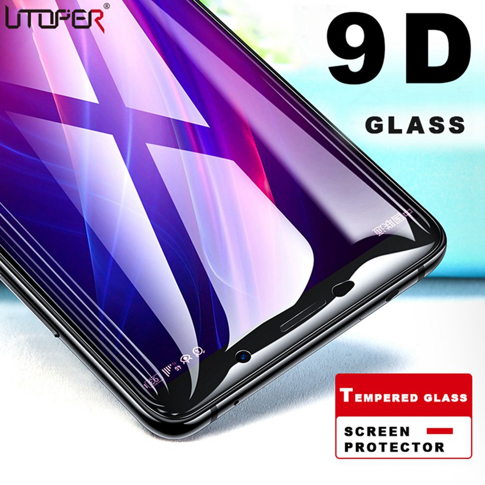 9D Tempered Protective Glass For ASUS Zenfone Max Pro M2 ZB631KL Screen Protector Glass For Zenfone Max M2 ZB633KL Glass Flim