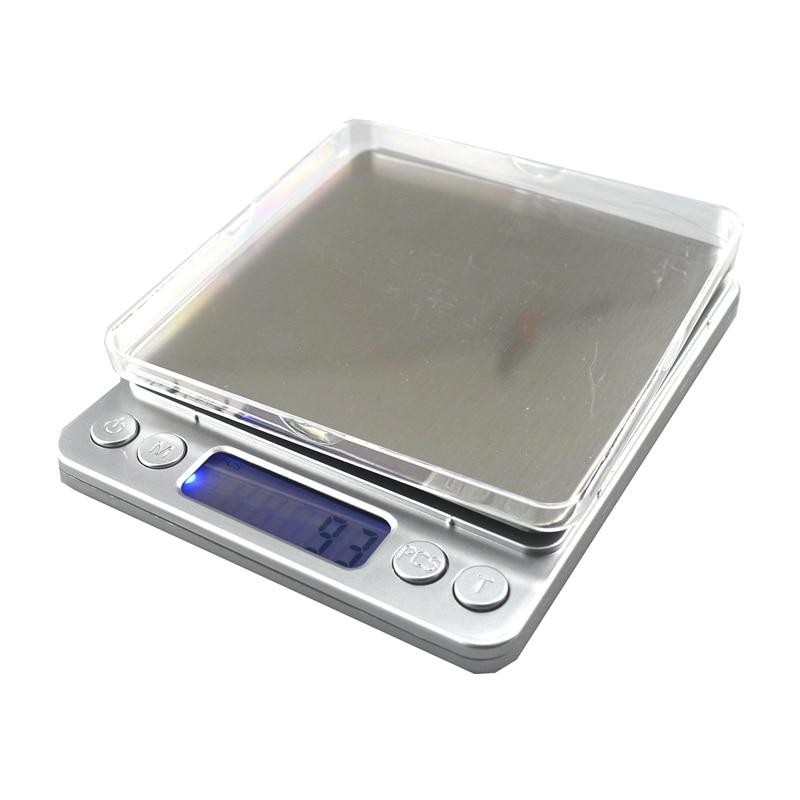 3000g / 0,1g digitální kuchyňská váha váha váha váha 3kg / - Měřicí přístroje - Fotografie 5