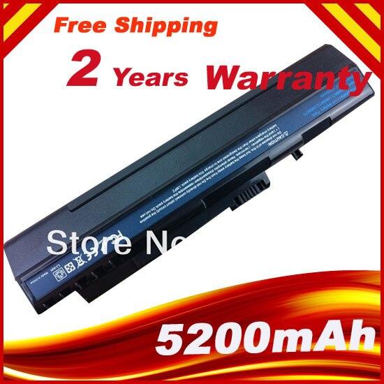5200 мАч Батарея ДЛЯ ACER Аккумулятор Acer Aspire One A150 AOD150 AOD250 D250 UM08A31 UM08A32 UM08A41