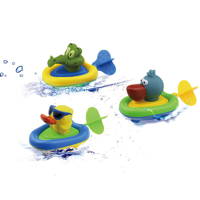 Supply Spring Water Spinach Baby Pull Toy Child Animal Shower Toys