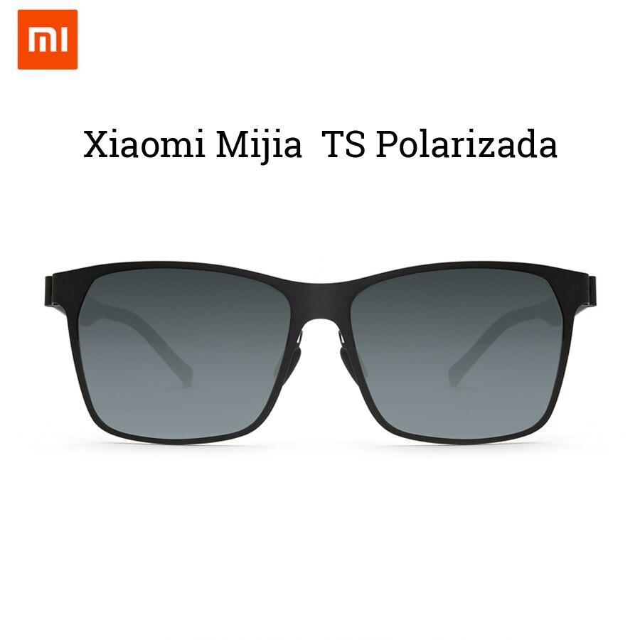 2018 Newest Original Xiaomi Mijia Customization Ultra thin Lightweight TS Nylon Polarized Sunglass Designed For Outdoor Travel
