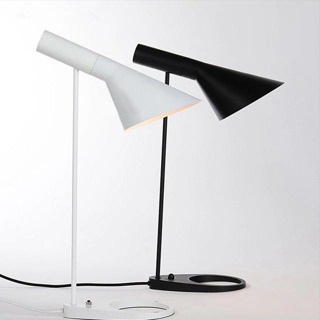 Replica AJ Table Lamp Arne Jacobsen Table Lamps For Living Room Modern Designer Louis Poulsen Desk Lamp For Bedroom,Study,Office