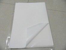 จัดส่งฟรี 40 แผ่น A4 210x297mm BLANK ไวนิลไวนิลกระดาษกันน้ำแผ่นสติกเกอร์สำหรับเครื่องพิมพ์อิงค์เจ็ท