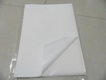 Darmowa wysyłka 40 arkuszy A4 210x297mm puste białe winylu papier do etykiet wodoodporna naklejka arkusze do drukarek atramentowych