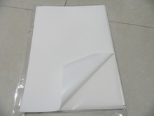 Freies verschiffen 40 blätter A4 210x297mm blank white vinyl label papier wasserdicht aufkleber blätter für inkjet drucker