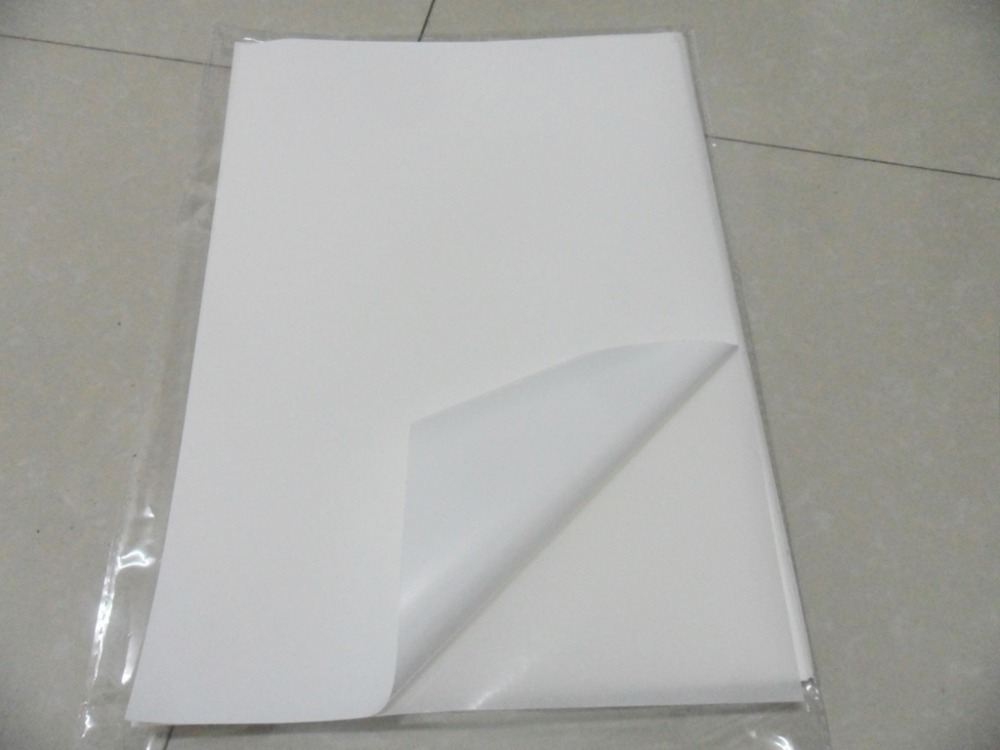 Free Shipping 40 Sheets A4 210x297mm Blank White Vinyl