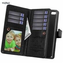 Для случая Huawei P9 Lite крышка Бизнес флип искусственная кожа + ТПУ кошелек чехол для Huawei P9 lite случае G9 телефон слот для карты
