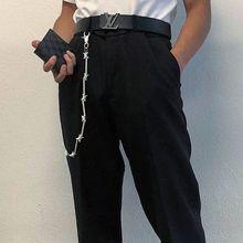 Cool Punk Rock Wallet Belt Chain Metal Trousers Jean Pants Hip Hop Jewelry