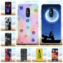For Alcatel 3 Phone Case Ultra-thin Soft TPU Silicone For Alcatel 3 5052D Cover Geometric Patterned For Alcatel 3 Funda Bumper цена в Москве и Питере