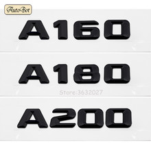 цена на Car Styling For Mercedes A160 A180 A200 W168 W169 W176 W204 W203 Discharge Capacity Refitting Emblem Sticker For Benz A Class