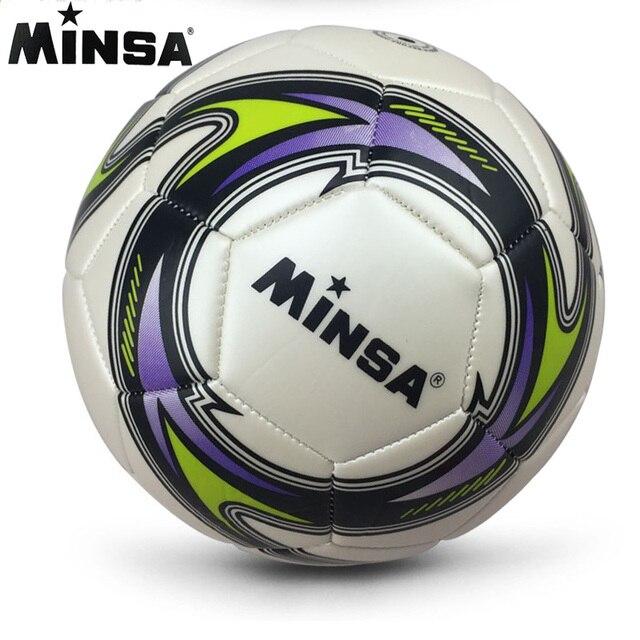 Nueva Marca 2019 MINSA, balón de fútbol estándar oficial, talla 5, pelota de fútbol, balón de fútbol, balón de fútbol, Voetbal Bal