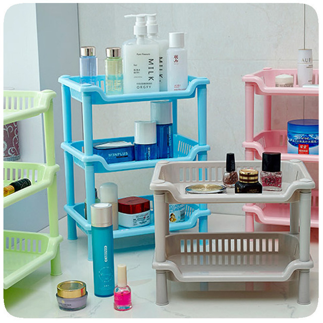 Bathroom Cleaning Supplies Cosmetic Stable Storage Shelf Rack Organizer  Free Shipping