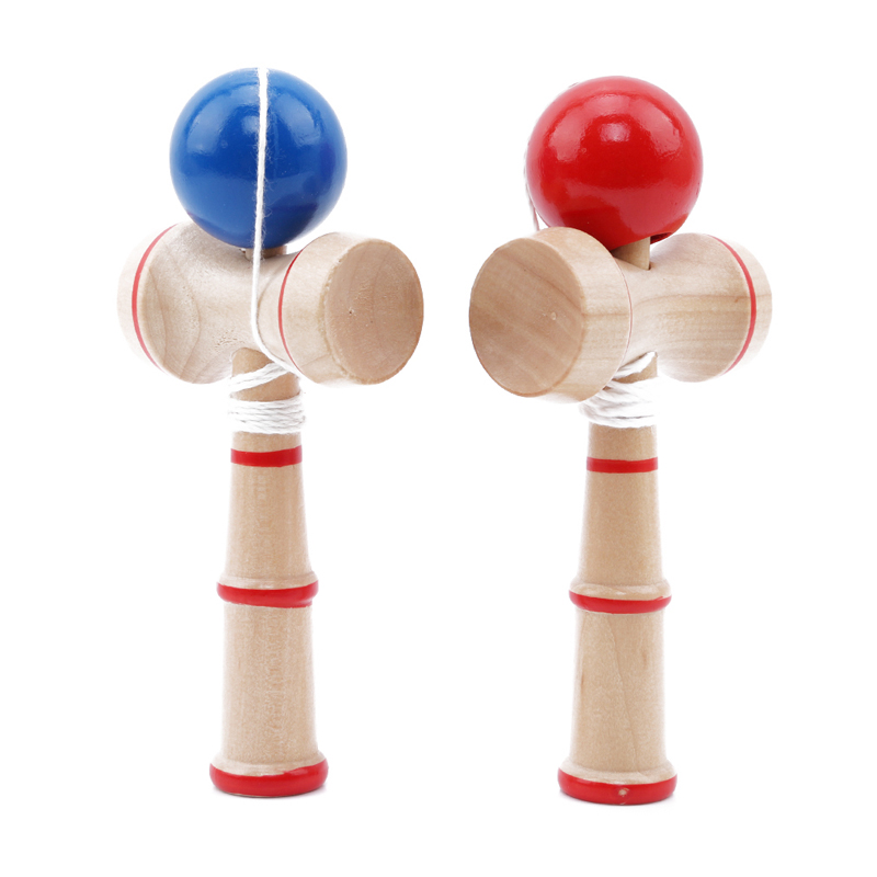 New Kendama Ball Toy Sets Children Safety Toy Bamboo Kendama Best Wooden Toys High Quality Kids Indoor Outdoor Sports Games Toys