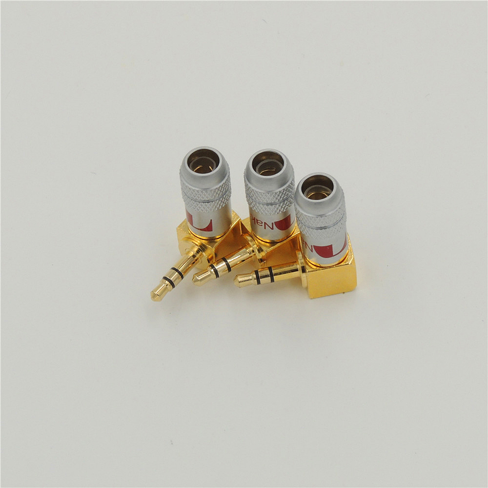 10pcs Copper 35mm Stereo 90 Degree Plug Right Angle Audio Jack 3 5mm Wiring Solder Connector In Connectors From Lights Lighting On Alibaba Group