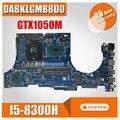 Материнская плата для ноутбука For Asus DABKLGMB8D0 материнская плата для ноутбука For Asus Gaming FX504G оригинальная материнская плата I5-8300H GTX1050 обмен!