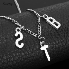 Kpop Jewelry ARMY Letter Necklace for Woman Fashio