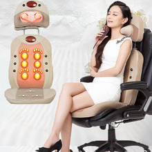 Massage Device Acupuncture Massage Chair Leg Massage Pad Back of a Chair Massager Free Shipping for Sale