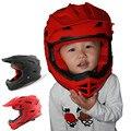 Nueva llegada de la marca kids casco, alta calidad de motocross casco para los niños, Dirt Bike capacete, moto mtb MX cascos para niño