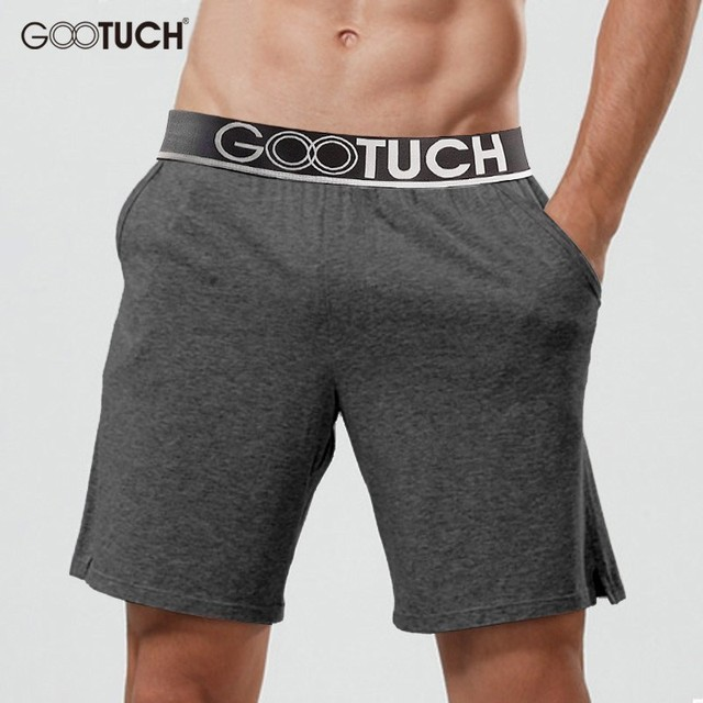 Men's Cotton Sleep Bottoms Plus Size Pyjamas Shorts Sleepwear Boxer Casual Lounge Shorts Homewear Pajama Nightwear Homme 3008
