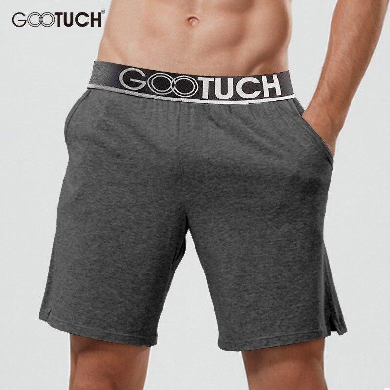 Plus Size Men's Cotton Sleep Bottoms Pyjamas Shorts Sleepwear Boxer Casual Lounge Shorts Homewear Pajama Nightwear Homme 3008
