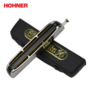 Image 2 - Hohner 257 14穴クロマチックハープchrometta 14ハーモニカ、キーのcメジャー