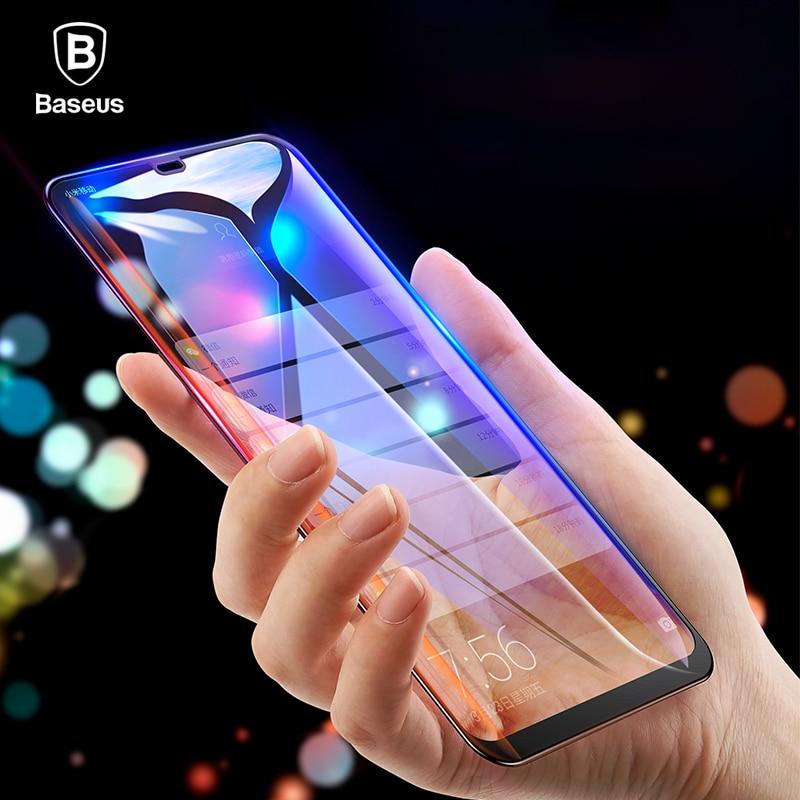 Baseus 0,3mm Dünne Full Coverage Schutz Glas Für Xiaomi 8 8 SE Screen Protector 3D Oberfläche Aus Gehärtetem Glas Für xiaomi 8