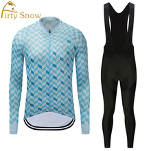 Cycling Jersey Sets Long Sleeve Road Mountain Bike Clothes Wear Breathable Quick Dry Racing Suit Cycling Kit Bicycle Clothing цена в Москве и Питере