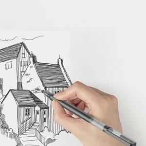 Image 4 - في المخزون شياو mi القلم mi jia سوبر دائم الكتابة تسجيل القلم mi القلم 0.5 مللي متر توقيع أقلام السلس سويسرا الملء mi Kuni اليابان الحبر