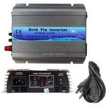 600 Вт инвертор связи решетки MPPT функция 22-60VDC вход 110 В 230VAC микро инвертор связи решетки мини инвертор инвертор