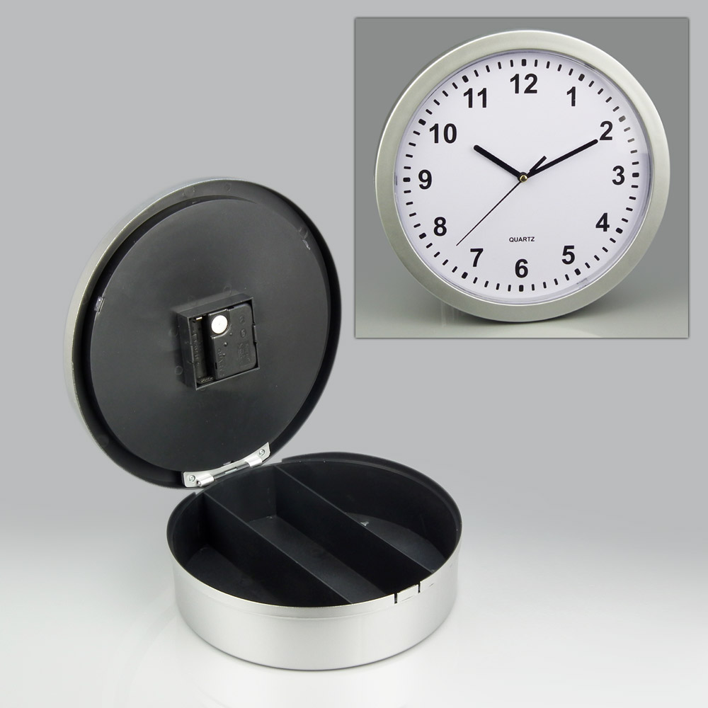 Aliexpress buy hidden secret wall clock safe money stash aliexpress buy hidden secret wall clock safe money stash jewellery stuff storage container box from reliable clock safe suppliers on hk technology co amipublicfo Images