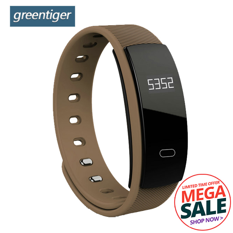 Greentiger QS80 Smart Armband Bluetooth Herz Rate Blut Smart Band Druck Schlaf Überwachung Smart Armband für IOS Android