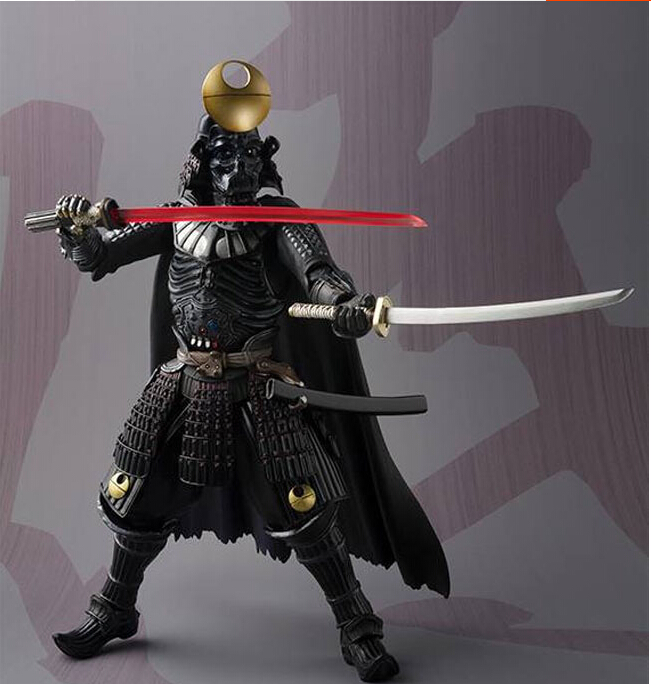 Star Wars Motion Determine Darth Vader PVC MOVIE Realization 170mm Anime Film Toys Darth Vader Star Wars Motion Figures Toys