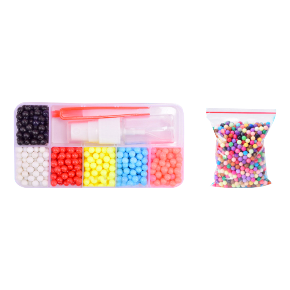 10colors Diy Cartoon Water Mist Magic Bead Puzzle Kids Intelligence Fuse Box Children Educational Toys Spray Beads Kit In From Hobbies