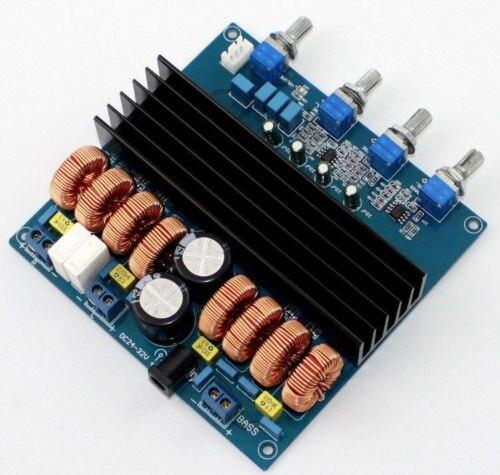 Assembled class D TDA7498 2.1 digital amplifier board 200W+100W+100W