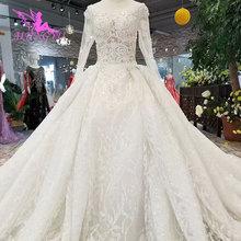 AIJINGYU מותאם אישית חתונה שמלת שמלת 2021 2020 Luxuris יוון Brideing לבן מחוך הלבוש מיובא שמלות יוקרה תחרה