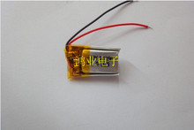 3.7V polymer lithium battery 321024 50MAH Ultra Slim Bluetooth toy wearable device Bracelet Rechargeable Li-ion Cell