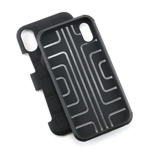 Image 5 - Бронированный чехол для телефона для защиты четырех углов, противоударный чехол для iPhone XR XS MAX 6 7 8 plus, задняя крышка из ТПУ с подставкой, оболочка