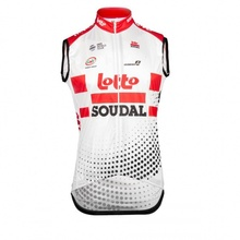 2019 pro team lotto soudal windvest cycling wind stopper vest proof cloth windproof quick-dry Ropa Ciclismo