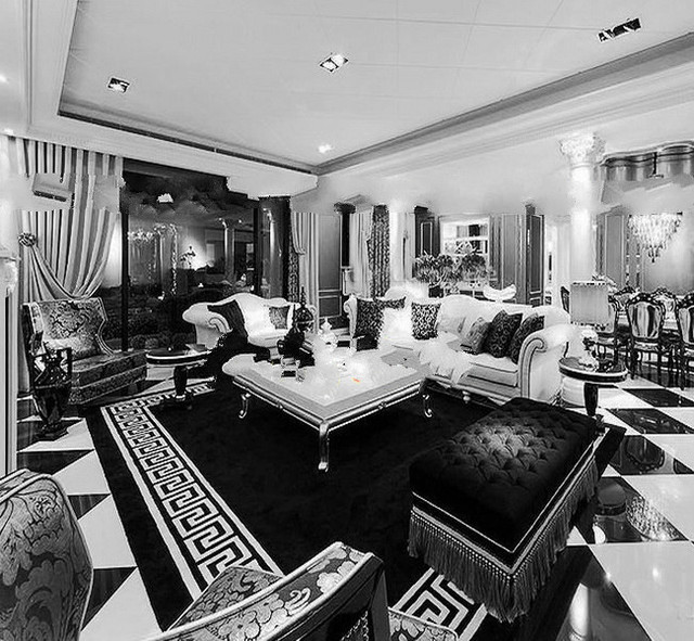 Exceptionnel WINLIFE Luxury Fashion Black And White Stripes Rugs, Bedroom Sitting Room  Sofa Carpet , Custom