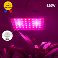 120W LED Grow Light Full Spectrum LEDs Plant Lamp Lighting Fitolampy Lamps For Plants Flowers Seedings