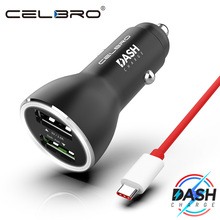 OnePlus Dash Charge Metal Car Charger Dual USB for OnePlus 6T 6 5T 5 3T 3 Original One Plus Dash USB Type C Cable Fast Charging cheap Other Universal Car Lighter Slot dash charger for oneplus6 oneplus5t oneplus5 oneplus3t oneplus3 ce RoHS FCC 5V 2 4A CELBRO