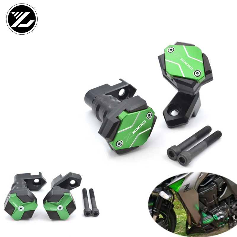 New Engine Stator Cover Crash Pad Protective For Kawasaki Z1000SX//Z1000 10-16