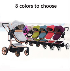 4 colors golden frame wingoffly european baby strollers high view special design golden frame baby car.jpg 250x250