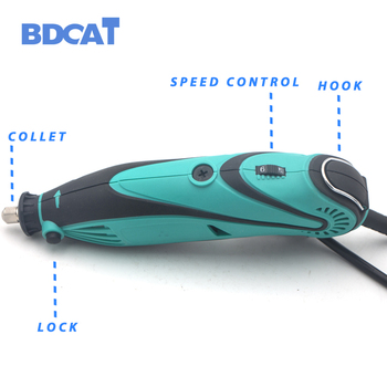 BDCAT 2018 Ɩ�スタイル電気 Dremel Ã�ニドリル研磨機可変速回転工具と 140 Ã�ース工具アクセサリー