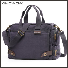 лучшая цена XINCADA Vintage Canvas Messenger Bag Solid Shoulder Bags for Men Small Satchel Male Handbag Bussiness 13 inch Laptop Sling Bag
