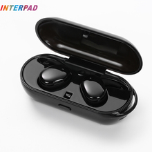 Interpad Sem Fio Bluetooth Fones De Ouvido À Prova D' Água Profissional Suporte de Som Estéreo Handsfree Fones de ouvido Com Microfone Para Xiaomi