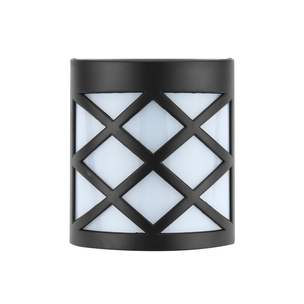 Solar Powered Fence Light Outdoor Garden Shed Step Wall LED Lighting Modern Lamp