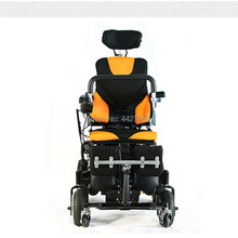 2019 automatic foldable portable standing electric power wheelchair for disabled and patients