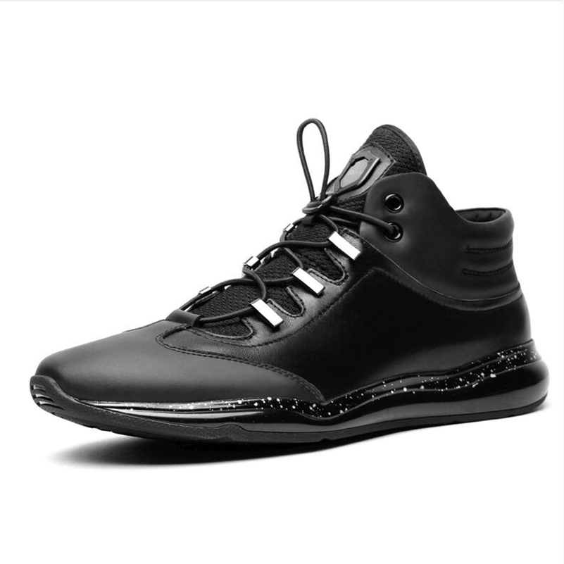 Men's Sneakers High quality athletic shoes Genuine leather breathable Running shoes Comfortable outdoor Sports /Walking shoes peak sport speed eagle v men basketball shoes cushion 3 revolve tech sneakers breathable damping wear athletic boots eur 40 50