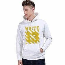 2016 New Off White 13 Exo GD Pyrex Religious Skull Black Color Fleece Hoodie Sweatshirts Cotton Hoodies